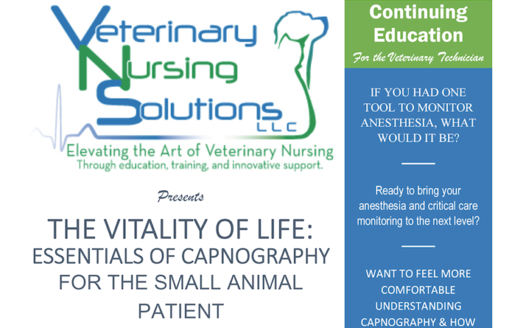 Essentials of Capnography For the Small Animal Patient